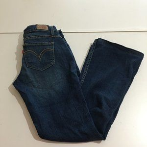 Levi's 524 Too SuperLow Women's Jeans Size 3 Boot
